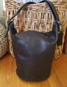Coach Bleeker Duffle Bucket Tote